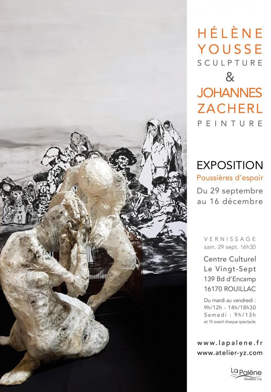 Exposition Hélène Yousse & Johannes Zacherl