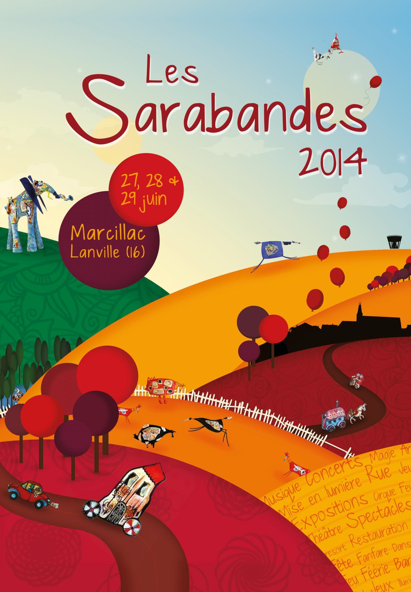 Affiche Sarabandes 2014