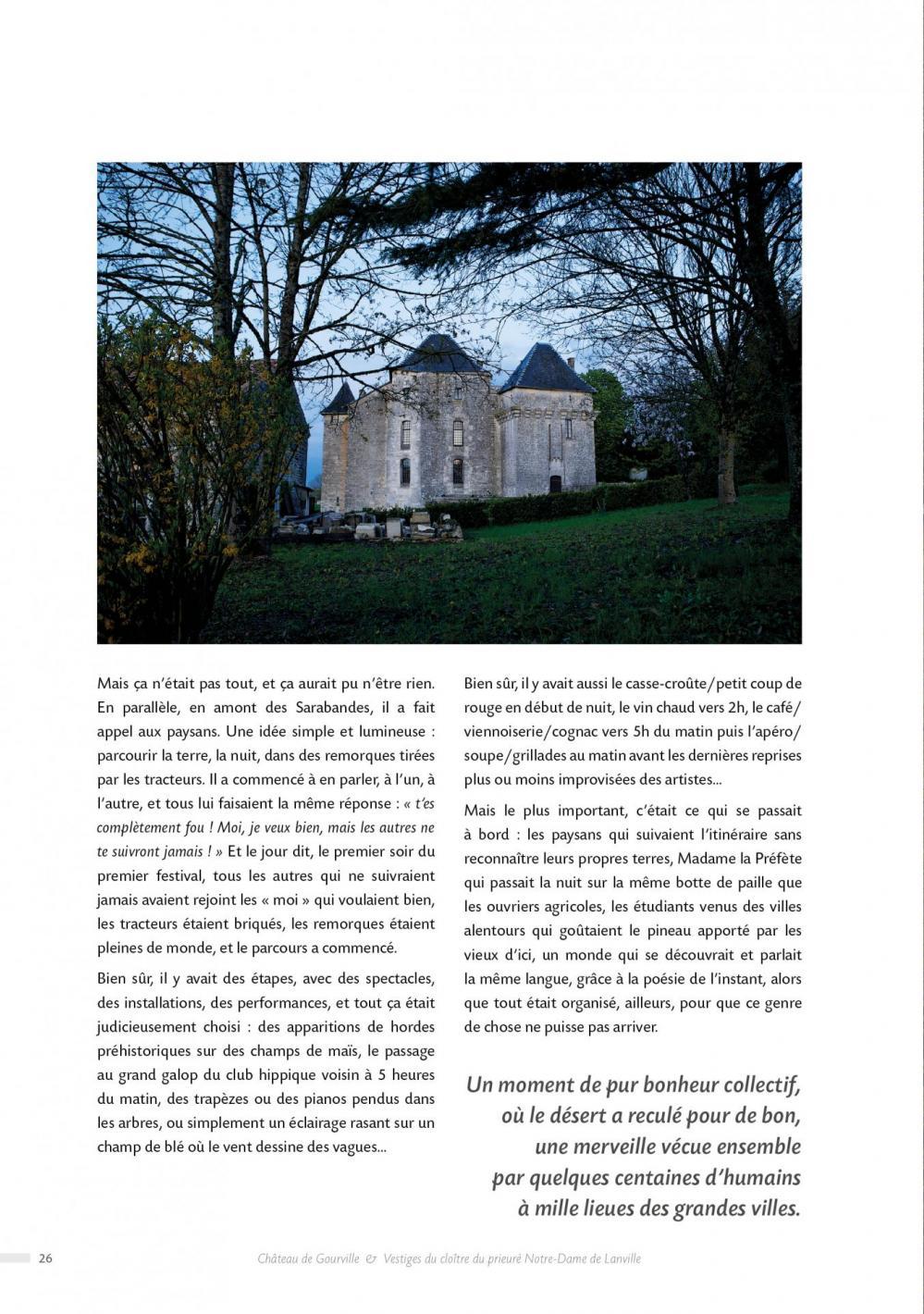 Livre des 20 ans - Association La Palène