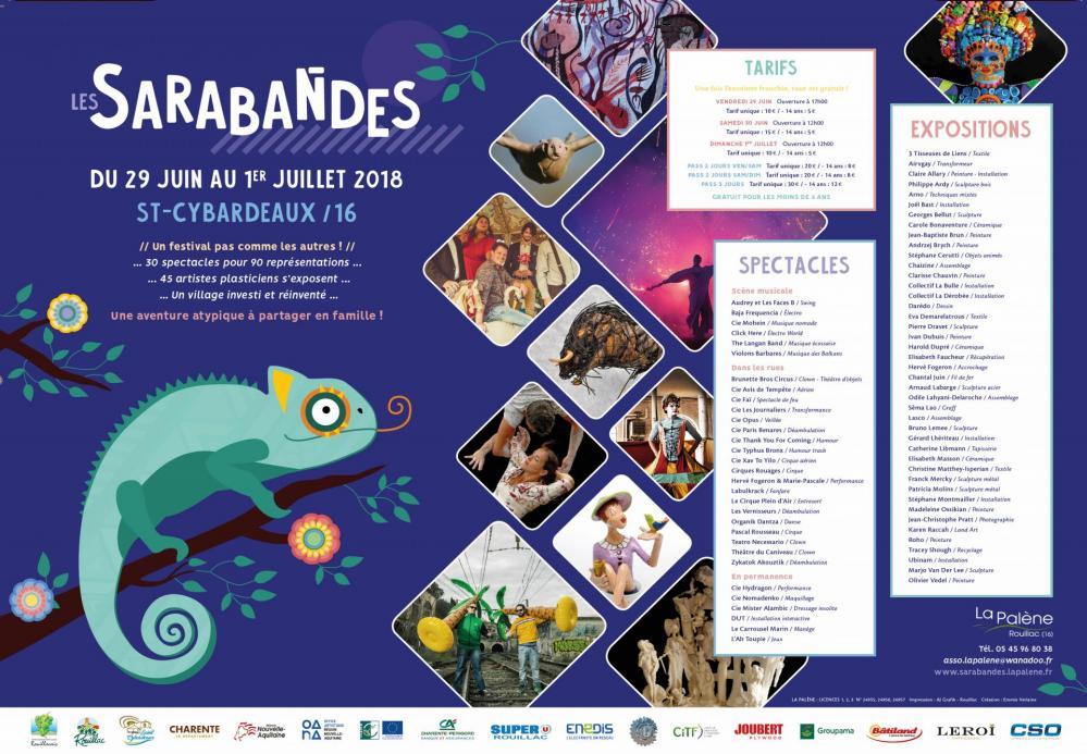 Set de table - Sarabandes 2018