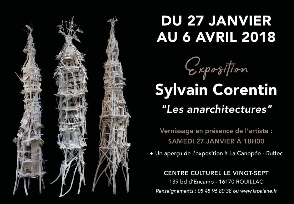 Invitation - Vernissage Sylvain Corentin