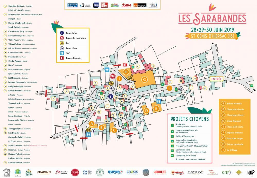 Plan Verso - Sarabandes 2019