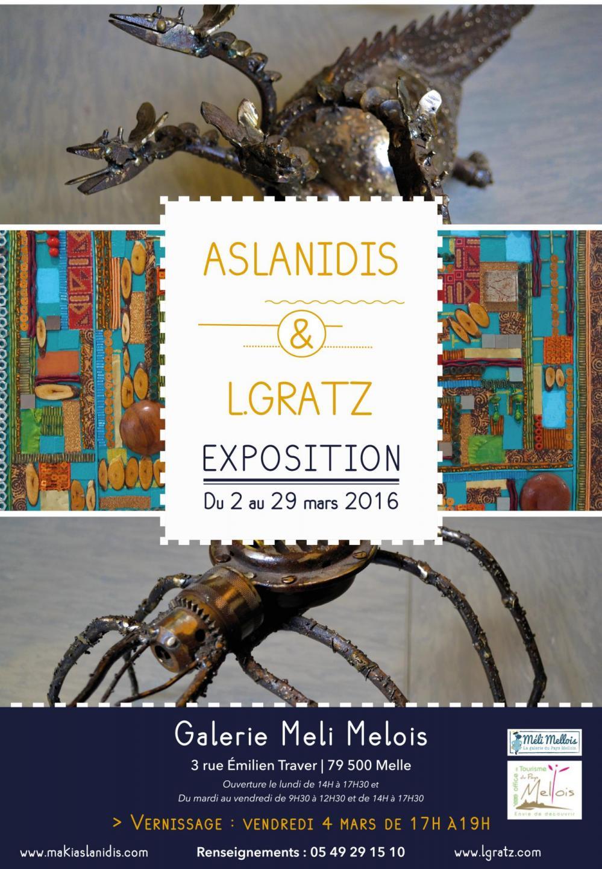 Exposition Aslanidis & L.Gratz