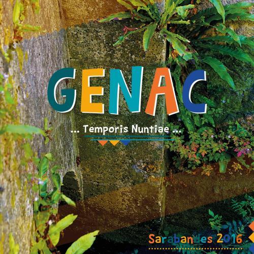 Sarabandes 2016 - Genac