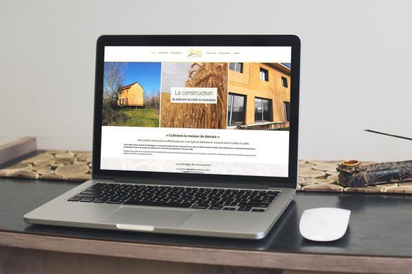 Site internet Activ Paille